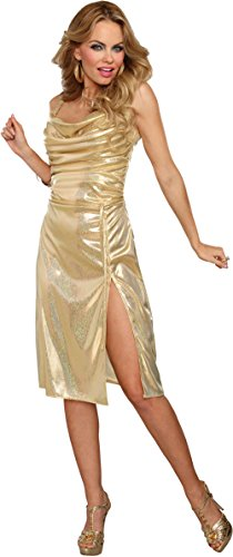 Adult Womens Disco Inferno Costume - Womens X-Large 14-16 -