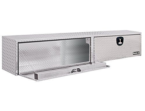 Buyers Products Diamond Tread Aluminum Topsider Truck Box w/ T-Handle Latch (16x13x72 Inch) ()