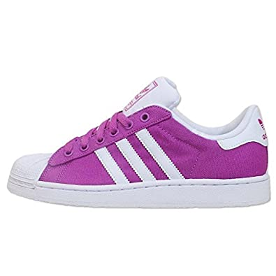 adidas Originals Superstar 2 II Trainers Shoes Purple White
