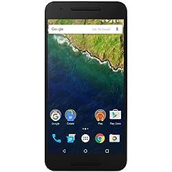 Huawei Nexus 6P Smartphone, Display 5.7 pollici, Memoria interna 32 GB, 3 GB RAM, Fotocamera 12.3 MP, Android 6.0, Argento