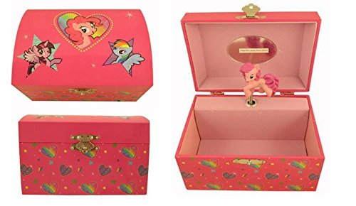 Amazoncom My Little Pony Music Box Jewelry Box Toys Games