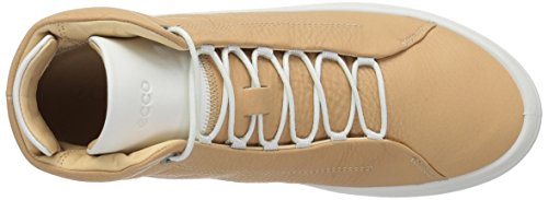 ECCO Hi Volluto White Beige Women's Trainers Top 50708 Kinhin rASqr