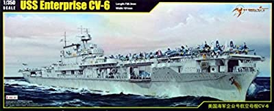 MRT65302 1:350 Merit USS Enterprise CV-6 [MODEL BUILDING KIT]