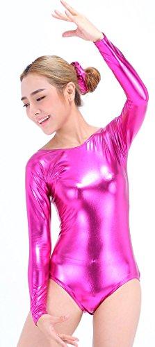 Speerise-Women-Long-Sleeve-Shiny-Metallic-Lycra-Spandex-Gymnastics-Leotard