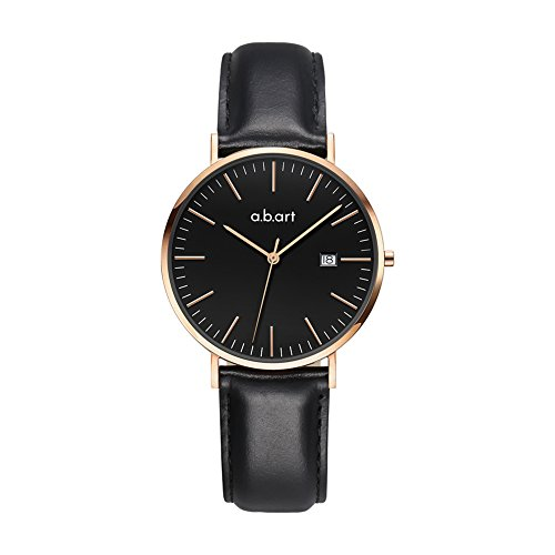 Women Wrist Watches Her watches a.b.art FB36-015-1L Black Ladies Watches Timepiece (Black ) by a.b.art