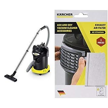 K/ärcher 2.863-262.0 accesorio y suministro de vac/ío Aspiradora de tambor Filtro Accesorio para aspiradora Drum vacuum, Filter, White, Polyester, AD 4 Premium, 82 mm
