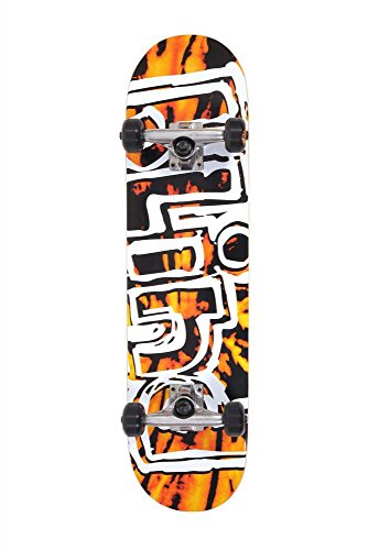 Blind Heady Tie Dye FP Complete Skateboard Orange/Black 7.75FU
