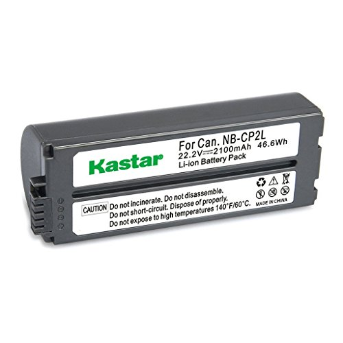 Kastar Battery NB-CP2L 1-Pack for Canon NB-CP1L NB-CP2L and Canon Compact Photo Printers SELPHY CP100 CP200 CP220 CP300 CP330 CP400 CP510 CP600 CP710 CP730 CP770 CP780 CP790 CP800 CP900 CP910 CP1200