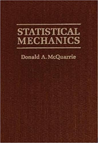 statistical mechanics mcquarrie solutions