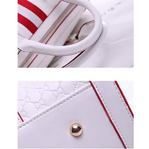 Gelaiken Laptops Bags Fashion Handbag, Ladies Leisure Single Shoulder Oblique Span Package, Size 31.5cmx18cmx23cm Padded Computer Bag Large Briefcase for Work by Gelaiken (Image #3)