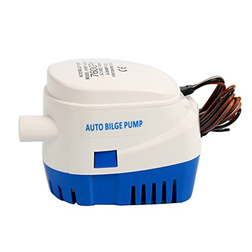 Amarine-made Automatic Submersible Boat Bilge Water Pump 12v 760gph Auto with Float Switch-New