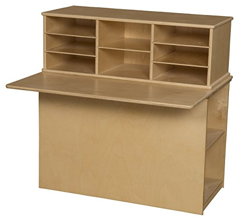 Wood Designs 31110 Single Sided Junior Writing Center, 36.62