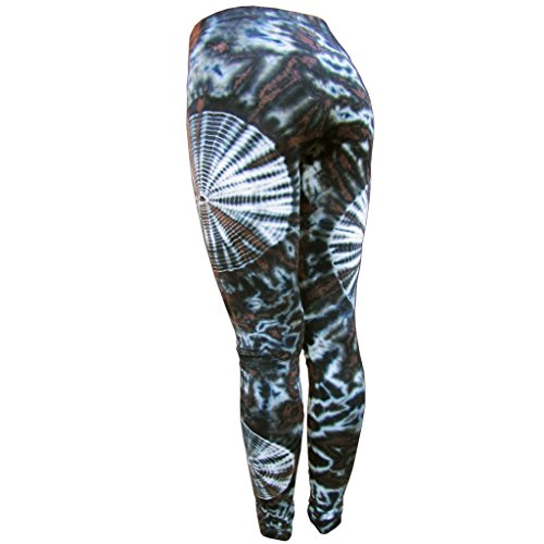 PANASIAM Legging, super weich & Stretchy, knallig Bunte Farben, Unisize passt M & L, top Qualität, in vielen Styles.