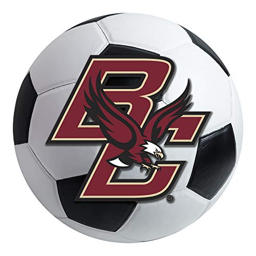 FANMATS NCAA Boston College Eagles Nylon Face Soccer Ball Rug ()