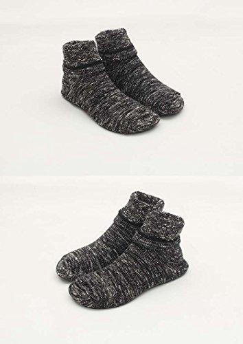 with Portable Fun Women Shoes Thick Slip Soles Rubber Socks LANSA Slipper Socks Bottom Home Black Thin Non Wear wYfxq1O6B