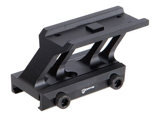 Fortis Manufacturing, Inc. F1 Optics Mount, Absolute Co-Witness, Black Finish F1-OPT-ABSOLUTE