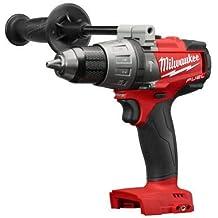 "Milwaukee 2704-20 M18 FUEL 1/2"" Hammer Drill/Driver (Bare Tool)-Peak Torque = 1,200"