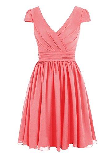 CoutureBridal - Vestido - Noche - para mujer Rosa 42