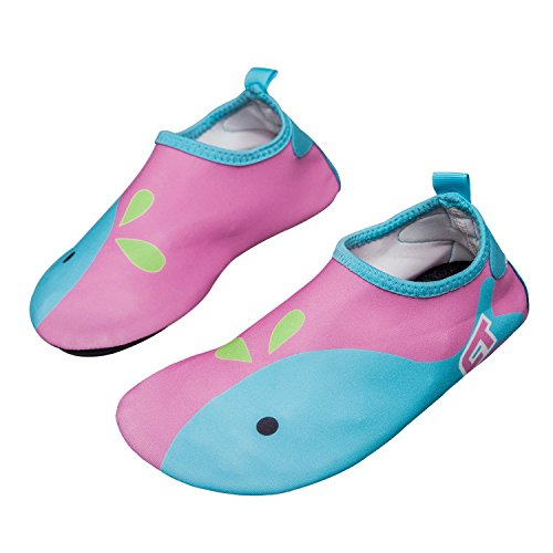 norocos Boys Lightweight Water Shoes Soft Barefoot Shoes Quick-Dry Aqua Socks...