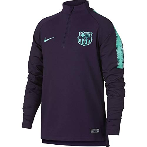 NIKE 2018-2019 Barcelona Drill Training Top (Purple -