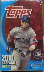 2020 Topps Hall Of Fame - 2010 Topps Series 2 Baseball Cards Hobby Box (36 packs/box, 10 cards/pack) - Randomly inserted Autographs, Memorabilia Cards, plus Jason Heyward Rookies!