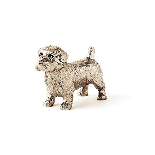 DOG ARTS JP Norfolk Terrier Made in UK Artistic Style Dog Figurine Collection