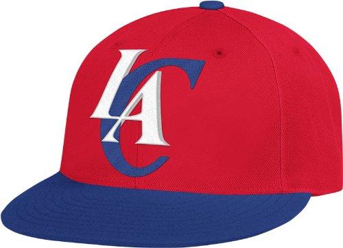NBA Los Angeles Clippers Flat Brim Flex Fit Wool Hat, Large/X-Large