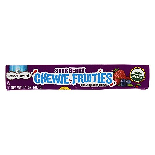 (Torie & Howard Sour Berry Chewie Fruities Stick Pack, 2.1)
