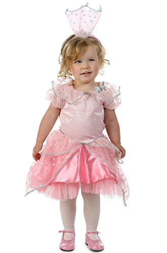 Princess Paradise Baby Girls' The Wizard of Oz Glinda Good Witch Glitter Deluxe Costume, Pink 6 to 12 -