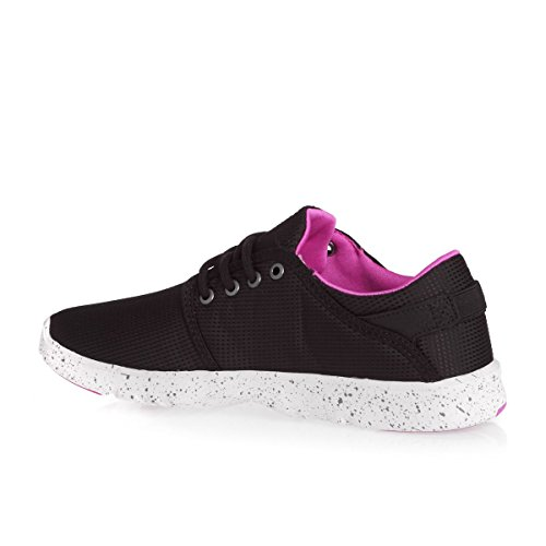 Etnies Damen Scout Ws Skateboardschuhe Black/Black/Pink