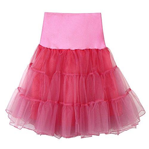 Rockabilly Bar Chic Petticoat Ballet vin en Petticoat Retro longueur Soire Dguisement annes Rockabilly Crinoline Danse Jupon vintage Tutu Party tulle Jupon 50 Long Sunenjoy Cabaret 1q0Y7