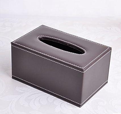 FDFZ Caja De Pañuelos Cajas de tejidos para el hogar, cajas de bombeo para servilletas, caja de tejidos para sala de estar (Color : 12#): Amazon.es: Hogar