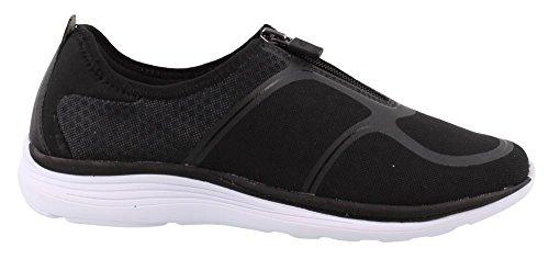 Easy Spirit Women's, Gemela Slip on Sneakers Black/Black/Black/Black/Black