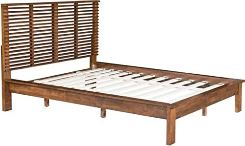 Zuo 100575 Linea BED Queen, Walnut