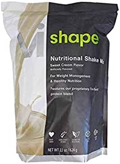 ViSalus Vi-Shape Nutritional Shake Mix (24 Serving Pouch) - 2018, Sweet Cream Flavor - The Shake-Mix That Tastes Like Cake-Mix