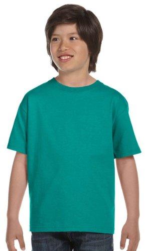 Gildan Youth DryBlend 5.6 oz., 50/50 T-Shirt - JADE DOME - S G800B-simple