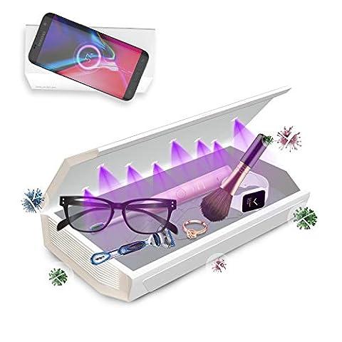 Cahot Portable UV Light Sanitizer Box, 8 LEDs UV-C Light - Sale: $50.99 USD (27% off)