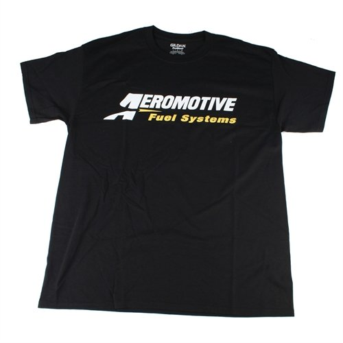 XXXL Black Aeromotive 91019 Logo T-Shirt