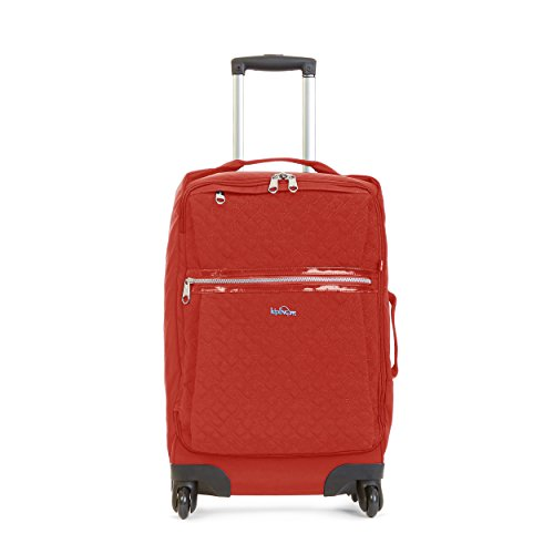 Kipling Darcey Solid Small Wheeled Luggage ,, Red Rust