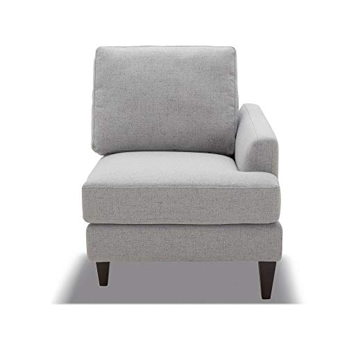 CHITA Modular Sofa and Loveseat, Modern Fabric Couch for Living Room, Grey -【Right Seat Module】
