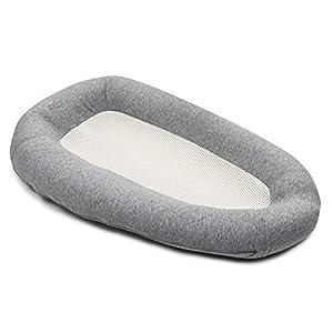 PurFlo Baby Newborn Breathable Sleep Nest 0-6M in Mary Grey
