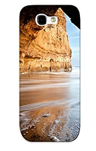 Crazinesswith Case Cover Waves In The Cave/ Fashionable Case For Galaxy Note 2
