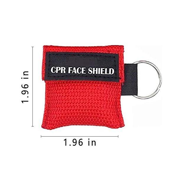 LSIKA-Z Paquete de 10pcs CPR Máscara 2