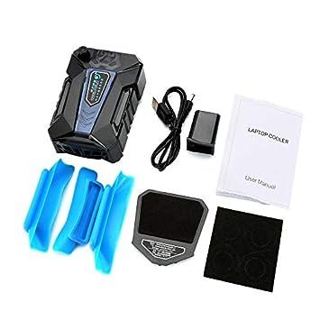 Newgrees 5V USB del Ordenador portátil del refrigerador del Aire de extracción de Escape del refrigerador del Ventilador del radiador: Amazon.es: ...