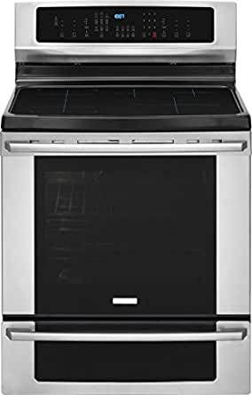 "Electrolux EI30IF40LS IQ-Touch 30"" Stainless Steel Electric Induction Range - Convection"