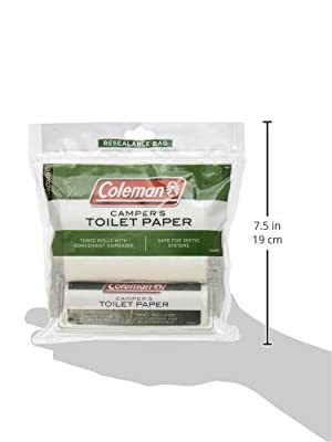 Coleman 2000014874 Toilet Paper Campers