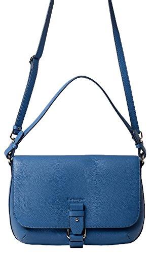 Mac douglas, Borsa a tracolla donna blu bleu jean