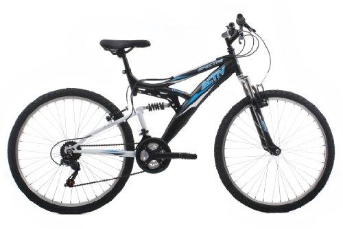 Activ by Raleigh Spectre Men's Dual Suspension Mountain Bike - Black, 18...