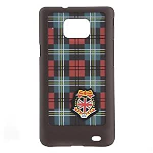 SUMCOM Grid Pattern Hard Case for Samsung Galaxy S2 i9100 (Assorted Colors)