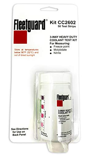 Fleetguard CC2602 Coolant Test Kit, 3-Way Test